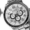 August Steiner Men's Multifunction Bracelet Watch