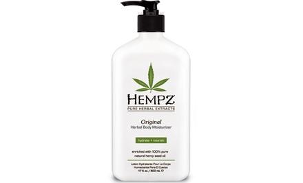 Hempz Herbal Moisturizer or Whipped Body Crème (17oz.)