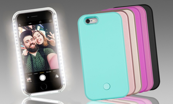 LED Light-Up Selfie Case for iPhone 6 6s and 6 Plus 6s Plus  26a87e52f