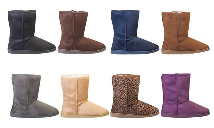 Women's 9 Microfiber Boots