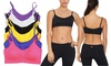 Padded Microfiber Cami Bralettes with Adjustable Straps (6-Pack): Padded Microfiber Cami Bralettes with Adjustable Straps (6-Pack)