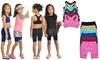 Kids Seamless Racerback Bralettes or Bike Shorts (6-Pack): Kids Seamless Racerback Bralettes or Bike Shorts (6-Pack)