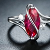 3.00 CTTW Marquise Cut Ruby Ring by Peermont