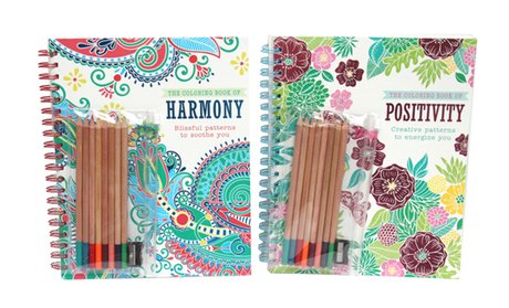 Coloring-Book Set (2-Piece)