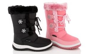Snow Tec Blizz Girls&39 Snow Boots | Groupon