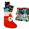 Baby Boys' Holiday Crew Socks 3-Pack Mystery Deal