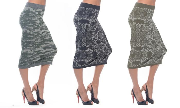 Women's Midi Skirts (3-Pack)