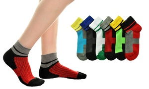Professional-Grade Cotton Sports Socks For Men and Women (6-Pack)