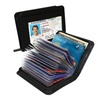 AA (DS) Card Safe - RFID Blocking Wallet Plus 3 RFID Card Sleeves