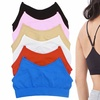 Wireless and Tagless Y-Back Layering Bras (6-Pack)