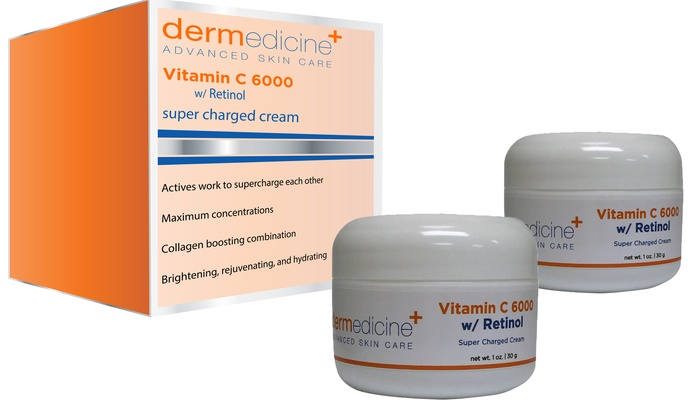 Vitamin C 6000 with Retinol | Groupon Goods
