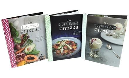 The healthy kitchen set 3 bks groupon goods for Kitchen set groupon