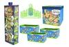 Teenage Mutant Ninja Turtles 10-Piece Storage-Solution Set: Teenage Mutant Ninja Turtles 10-Piece Storage-Solution Set