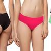 Women's Laser-Cut Seamless Hip Hugger Panties (5-Pack)