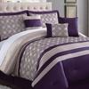 Dania 7-Piece Embroidered Comforter Set