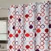 Bohemia EZ On...No Hooks Needed! Fabric Shower Curtain
