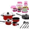Imperial Home Nonstick Carbon Steel Cookware Starter Set (72-Piece)