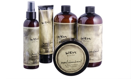 Wen Sweet Almond Mint Cleansing and Styling Kit