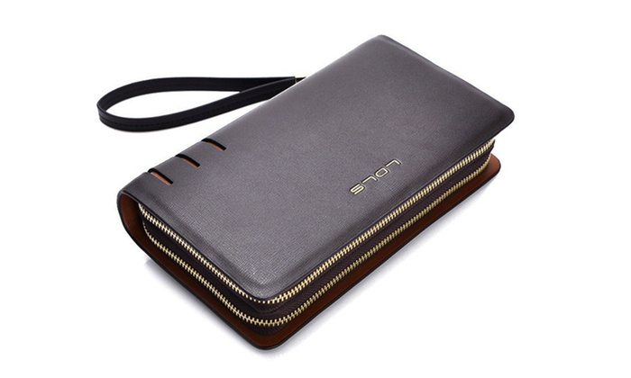 Women's Luxury Double Zipper Wallet