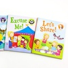 4-Book Book of Manners Set with Reward Stickers