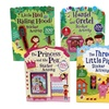 Fairytale Sticker Activity Books (4-Pack)