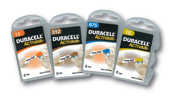 Duracell Hearing Aid Batteries with EasyTab (48-Pack)