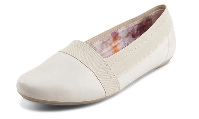Eastland Women's Slip-On Shoe with Memory Foam Insole (9.5)