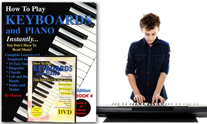 How To Play The Keyboard and Piano Instantly Without Sheet Music DVD and Booklet Set