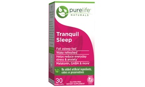 30-Day Supply of PureLife Naturals Tranquil Sleep