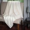 Home Soft Plush Sherpa Fleece Throw Blanket: Lavish Home Solid Soft Plush Sherpa Fleece Throw Blankets
