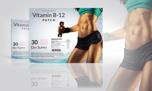 30-Pack of Vitamin B12 and Guarana Slimming Patches: 30-Pack of Vitamin B12 and Guarana Slimming Patches