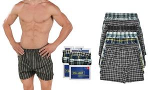 Vigaro Men's Cotton-Rich Assorted Boxer Shorts (6-Pack)
