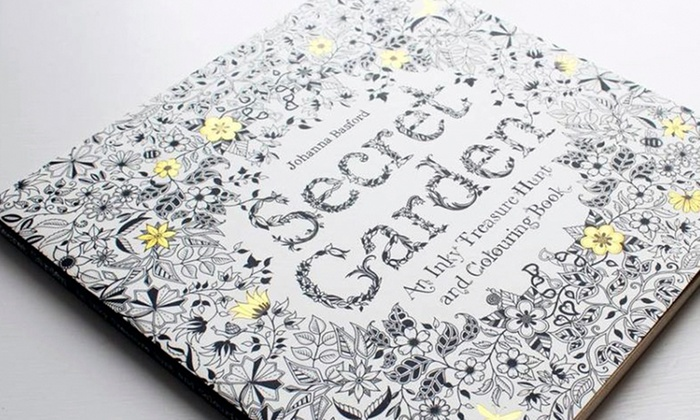 Trend Matters Anti Stress Secret Garden Coloring Book