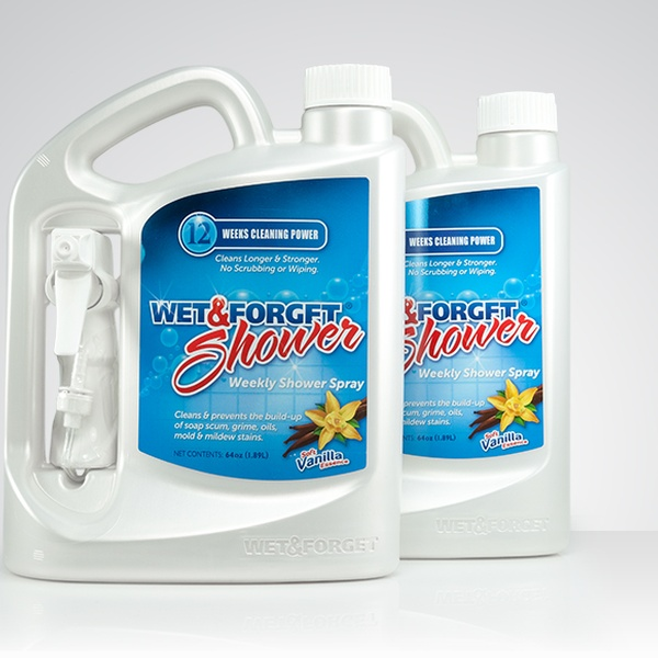 Wet Forget Shower Spray 64 Oz 2 Pack Groupon