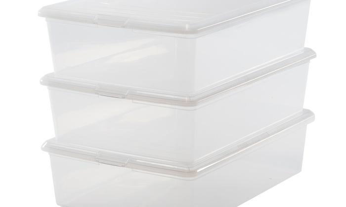 ... Set of 12 IRIS Boot Storage Boxes  sc 1 st  Groupon & Set of 12 IRIS Boot Storage Boxes | Groupon