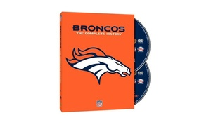 Denver Broncos The Complete History DVD Set (2-Piece)