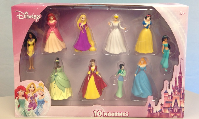 Disney Princess Plastic Cake Toppers