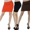 4-Pack of Women's Seamless Miniskirts