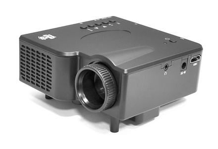 Multimedia mini projector with h groupon goods for Mini projector near me