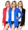 Women's Open-Front Cardigan (3-Pack)