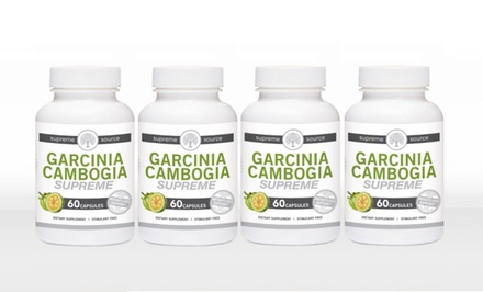 Buy 2 Get 2 Free: Garcinia Cambogia Supreme Weight-Loss Supplement
