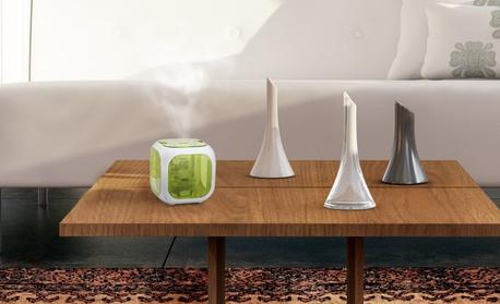 HealthSmart Cube Mate Ultrasonic Cool Mist Humidifier and Aromatherapy Diffuser d68d80f6-9898-11e7-82e7-00259060b5da