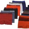 Men's Seamless Microfiber Boxer Briefs (6-Pack)