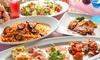 大阪府/梅田 ≪有機野菜の前菜、肉料理、パスタ、天然酵母パンなど6品+飲み放題180分≫