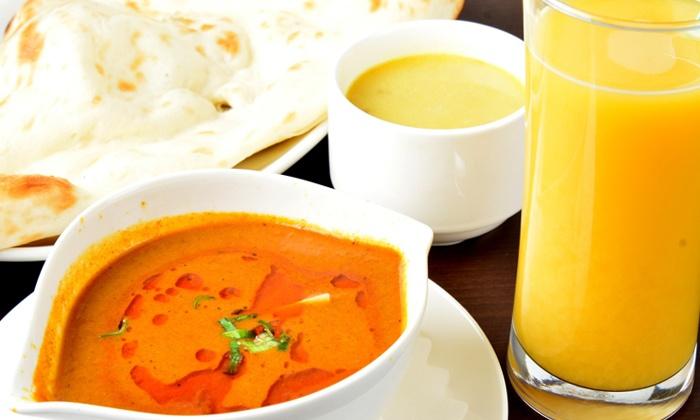 THE ROYAL INDIAN BAR - THE ROYAL INDIAN BAR: 【50%OFF】本場のDEEP TASTEがここにある≪インドカレー1種+スープ+(ナンorライス)+1ドリンク/他2メニュー≫ @ THE ROYAL INDIAN BAR