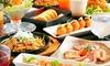 大阪府/十三 ≪豚しゃぶ鍋など5品+一品・揚げ物・〆など食べ放題+飲み放題150分≫