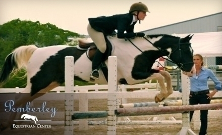 Pemberley Equestrian Center Chesterfield Mo Groupon