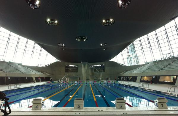Queen Elizabeth Olympic Park London Swim Cycle Run