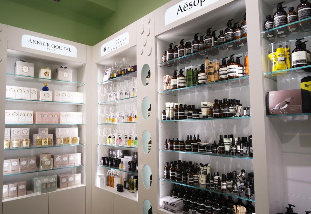 L 39 olfattorio bar parfum la profumeria di classe a brera for Negozi di belle arti milano