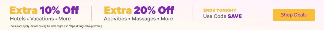 Up to an EXTRA 20% Off with Promo Code